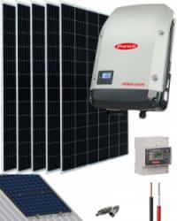 Kit Solar Conectado Red 2000W 10000Whdia Monofásico