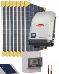 Kit Solar Conectado Red 2000W 11200Whdia Monofásico