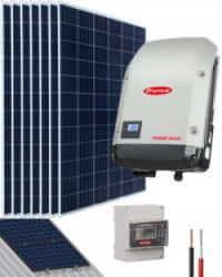 Kit Solar Conectado Red 2000W 11900Whdia Monofásico