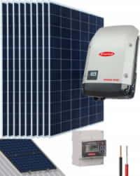 Kit Solar Conectado Red 3000W 15300Whdia Monofásico