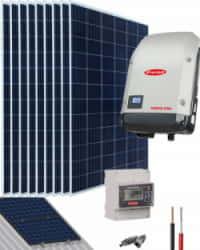 Kit Solar Conectado Red 3000W 15300Whdia Trifásico