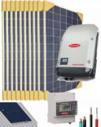 Kit Solar Conectado Red 3000W 16000Whdia Monofásico