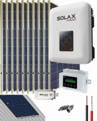 Kit Solar Conectado Red 3000W 16200Whdia SolaX Air