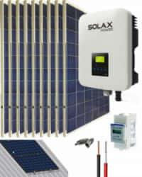 Kit Solar Conectado Red 3300W 17550Whdia SolaX