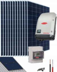 Kit Solar Conectado Red 5000W 25500Whdia Monofásico