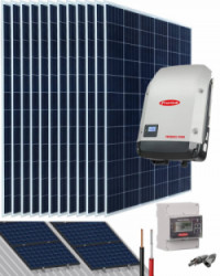 Kit Solar Conectado Red 5000W 25500Whdia Trifásico