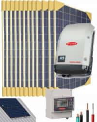 Kit Solar Conectado Red 5000W 25600Whdia Monofásico