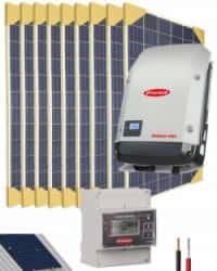 Kit Solar Conectado Red 5000W 27200Whdia Trifásico