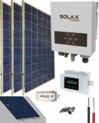Kit Solar Conectado Red 700W 4050Whdia SolaX