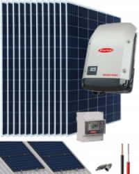 Kit Solar Conectado Red 8200W 40800Whdia Monofásico