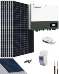 Kit Solar Híbrido 3000W 16000Whdia Growatt