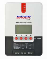 Controlador MPPT 100V 30A LCD Bauer 12/24V
