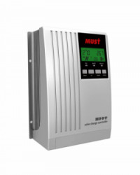 Controlador MPPT LCD 30A 12/24V Must Solar