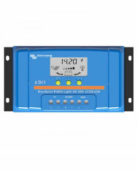 Controlador PWM BlueSolar 48V 10A LCD USB Victron