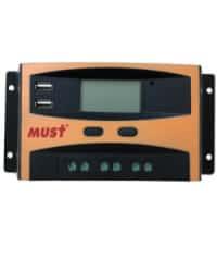 Controlador PWM LCD 10A 12/24V Must Solar