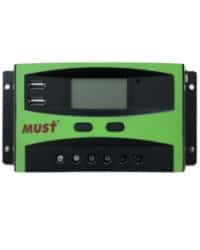 Controlador PWM LCD 30A 12/24V Must Solar