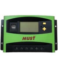Controlador PWM LCD 40A 12/24V Must Solar